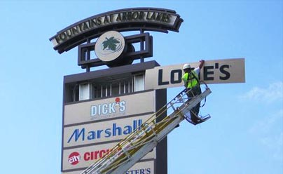 Sign Repair and Maintenance